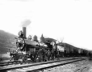 #4 train, circa 1911